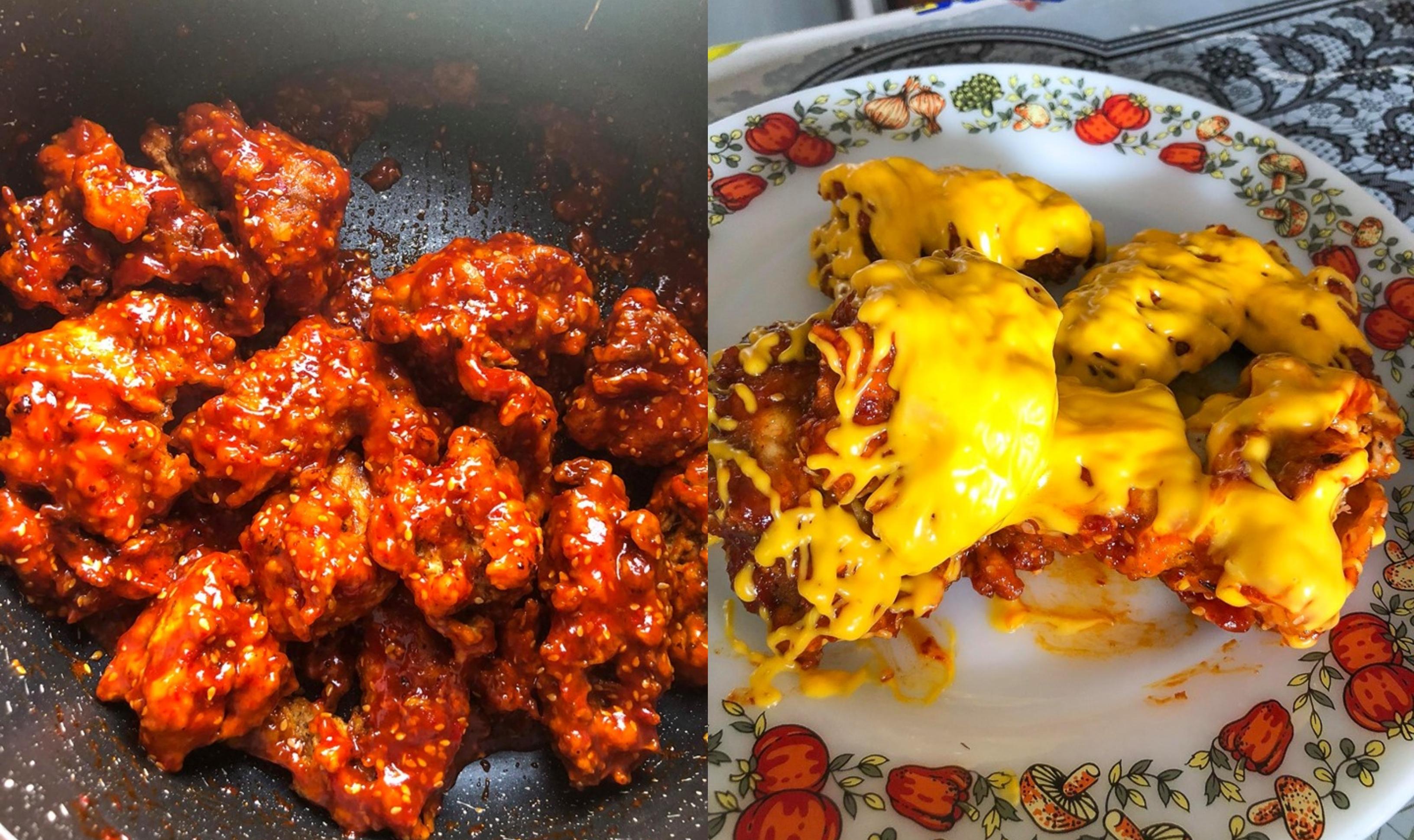 Resepi Korean Spicy Chicken