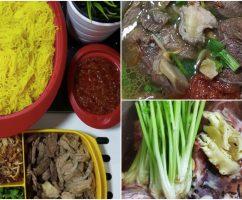 Resipi Bihun Sup Tulang Cabai Merah Padu Bak Hang, Confirm Tak Cukup Semangkuk!